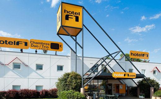hotelF1 Tours Sud